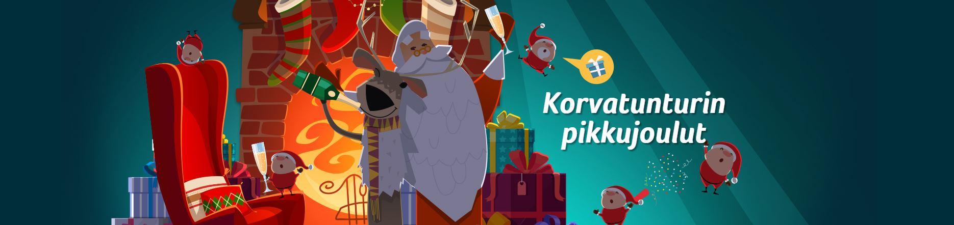kolikkopelit joulu